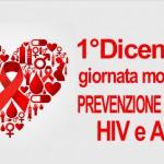 01/12/2016 GIORNATA MONDIALE DI LOTTA CONTRO HIV