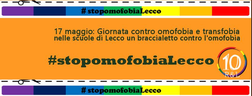 #stopomofobiaLecco