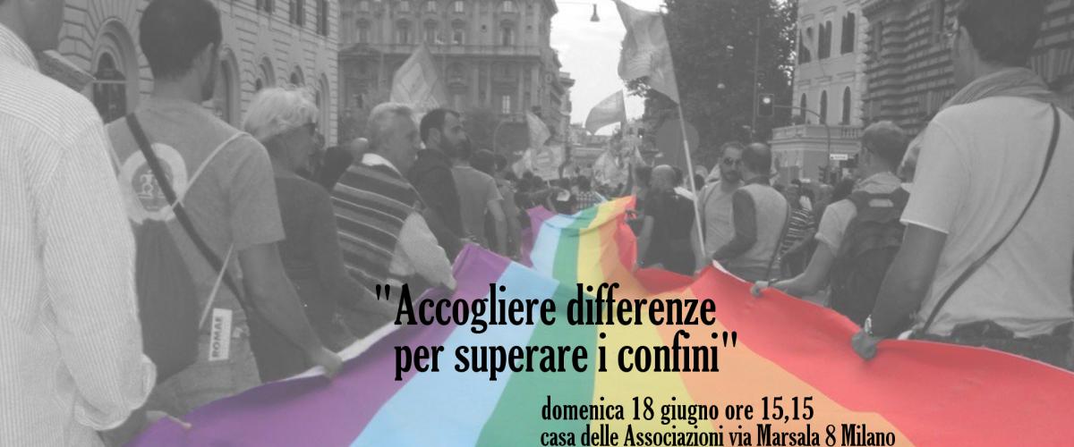 #dirittisenzaconfine #milanopride