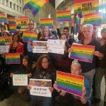 A Milano sit-in di protesta contro le persecuzioni LGBT in Egitto
