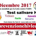 1 dicembre Giornata mondiale lotta contro HIV: a Lecco per la prima volta il test salivare