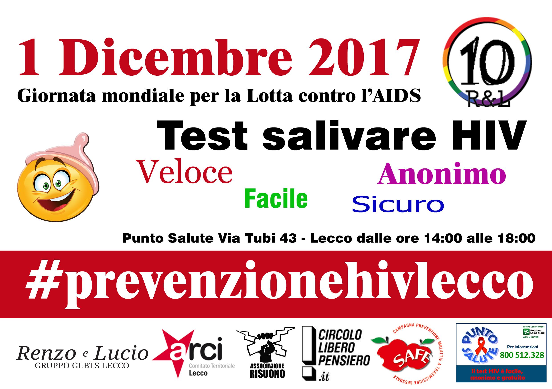 1 dicembre lotta hiv aids lecco