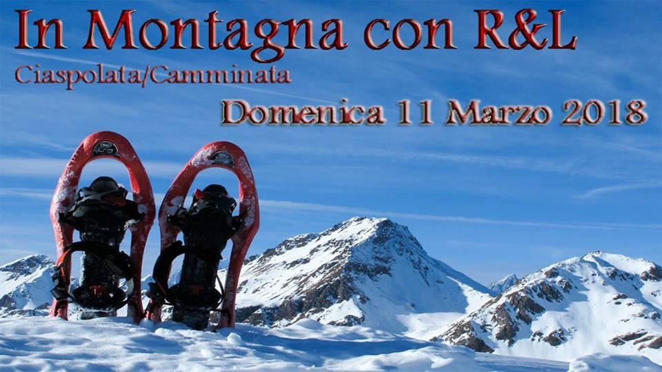 una passeggiata in montagna con associazione Renzo e Lucio di Lecco