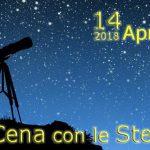 14 aprile : A cena con le stelle