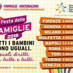 6 maggio 2018 a Milano la Festa delle Famiglie Arcobaleno