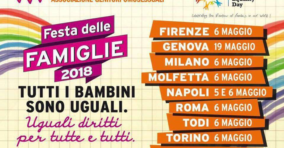 Festa famiglie arcobaleno Milano