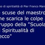 Le scuse e le colpe di Franco Marcenaro