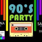28 settembre 90' Party serata con Renzo e Lucio ad Oliveto Lario : apericena e DJ set